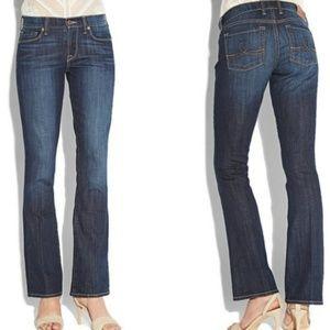 Lucky Brand Sofia Boot Dark Wash Jeans Sz 4/27
